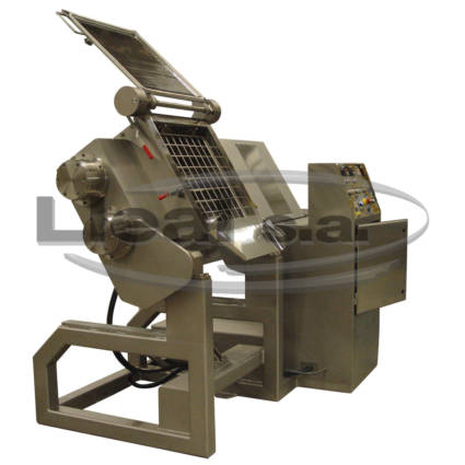 knead machine model AM-150 manufactured entirely in stainless steel and intended for the dietetic food sector.