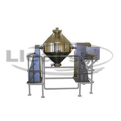 1000 L Biconical Blender, built of stainless steel, for pharmaceutical applications